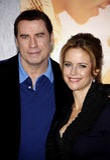 John Travolta and Kelly Preston Royalty Free Stock Photo