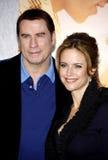 John Travolta and Kelly Preston Stock Image