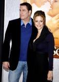 John Travolta and Kelly Preston Royalty Free Stock Images