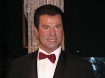 John Travolta - Wachsstatue Lizenzfreie Stockfotografie