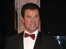 John Travolta - wax statue Royalty Free Stock Photography