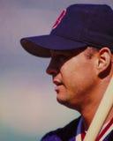 John Valentin, les Red Sox de Boston Photos libres de droits