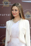 John Varvatos, Emmy Rossum Photographie stock