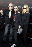 John Varvatos, Ringo Starr and Barbara Bach Royalty Free Stock Photo