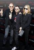 John Varvatos, Ringo Starr and Barbara Bach Royalty Free Stock Photo