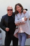 John Varvatos,Steven Tyler,Michael Chiklis Stock Photos