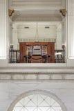 The John Wanamaker Organ, Philadelphia stock images
