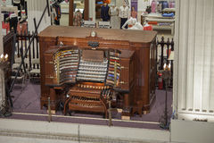 The John Wanamaker Organ, Philadelphia. Pennsylvania. The glorious pipe organ at the famous department store Royalty Free Stock Images