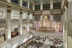 John Wanamaker Organ, Philadelphie Images stock