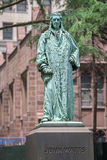 John watts statue in new york Stock Images