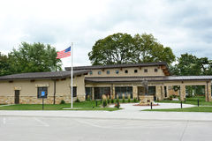 John Wayne Birthplace Museum Stock Afbeelding