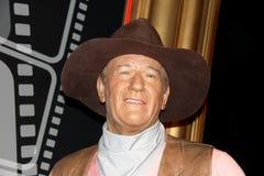 John Wayne at Madam Tussauds Stock Images