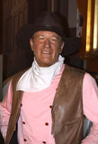 John Wayne at Madame Tussaud's royalty free stock image