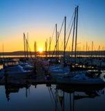 John Wayne Marina, Washington State Photographie stock libre de droits