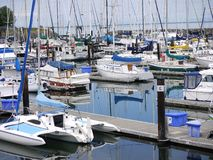 John Wayne Marina in Washington State Stock Afbeelding