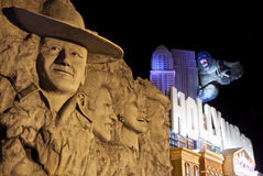 John Wayne - museu da cera de HollyWood - Branson Foto de Stock