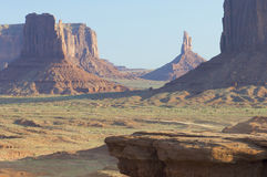 John Wayne Point. In Monument Valley ,Navajo Tribal Park, Utah, Usa Stock Photography