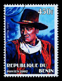 John Wayne Postage Stamp Immagini Stock