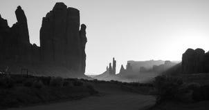 John Wayne`s Spirit. John Wayne use to walk these roads, horse and gun Royalty Free Stock Photography