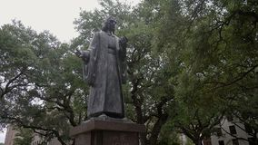 John Wesley/sabana Georgia/los E.E.U.U. almacen de video