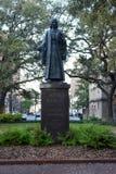 John Wesley Statue Royaltyfri Fotografi