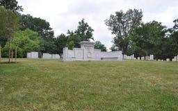 John Wingate tygodni sekretarka wojna grób w Arlington cmentarzu od Virginia usa Fotografia Stock