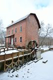 John Wood Grist Mill in December Royalty Free Stock Photography
