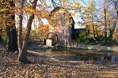 John wood grist mill in november