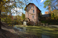 John Wood Old Mill en automne photographie stock
