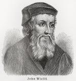 John Wycliffe Stock Image