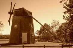Johnathan Young Windmill, Orléans, mA Photographie stock libre de droits