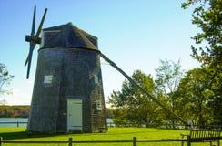 Johnathan Young Windmill, Orleans, mA Imágenes de archivo libres de regalías
