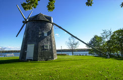 Johnathan Young Windmill, Orleans, mA Foto de archivo