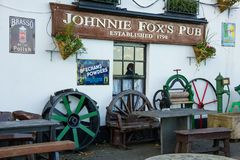 Johnnie Fox`s pub. Dublin. Ireland. Johnnie Fox`s pub, the highest pub in Ireland. Dublin. Ireland Stock Photos