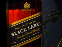 Johnnie Walker Fotos de Stock Royalty Free