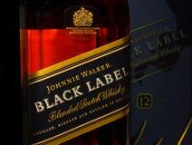Johnnie Walker Fotos de Stock Royalty Free