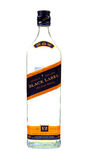 Johnnie walker black label bottle Stock Photo