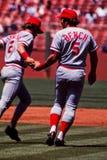 Johnny bänk Cincinnati Reds Arkivfoto