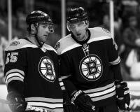 Johnny Boychuk and Blake Wheeler Stock Photos