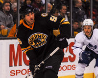 Johnny Boychuk Boston Bruins Stockbilder