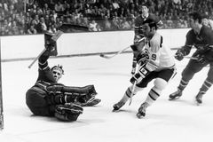 Johnny Bucyk Boston Bruins Stockfoto