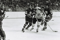 Johnny Bucyk, Boston Bruins Fotografia de Stock