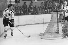 Johnny Bucyk Boston Bruins Stock Photos