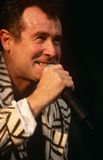 Johnny Clegg performing on stage Royalty Free Stock Photography