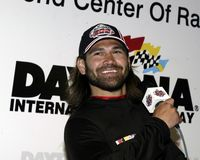 Johnny Damon Attends le Daytona 500 photo stock
