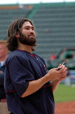Johnny Damon Boston Red Sox Stock Photography