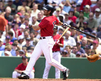 Johnny Damon, Boston Red Sox Imagem de Stock