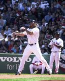 Johnny Damon, Boston Red Sox. Boston Red Sox centerfielder Johnny Damon. Image taken from color slide Stock Photography
