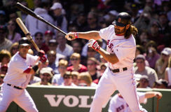 Johnny Damon, Boston Red Sox Stock Image