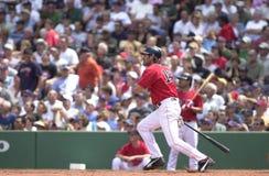 Johnny Damon. Boston Red Sox OF Johnny Damon.  Image taken from color slide Stock Photography